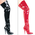 "5"" Heel Thigh High Boots"