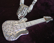 Icy Guitar Bling  [SOLD OUT]