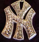 """Iced Out New York """"NY"""" Logo Bling [SOLD OUT]"""