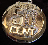 Large 50 Cent / G-Unit Spinner Bling  [SOLD OUT]