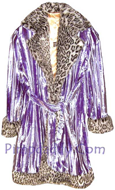 pimp suits lavender front picture