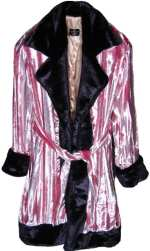 Pimpdaddy® Big Baller™ - Pink Minky Velvet w/Purple Fur Suit [SOLD OUT]