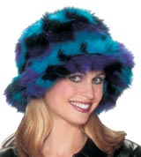 Black, Blue & Purple Hat