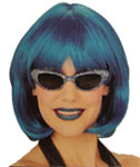 Value Bob Wig (Neon Blue)