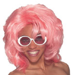 Workin' Girl Wig (Pink)
