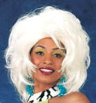 Workin' Girl Wig (White)