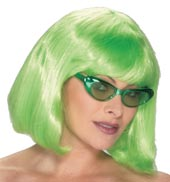 Value Bob Wig (Lime Green)