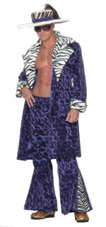 Purple Pimp Suit w/Hat  !!! Only One Left!!!