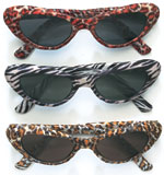 Ladies Animal Print Glasses