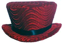 Pimp Hat - Red Compact Hat