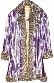 Pimpdaddy® Big Baller™ Pimp Suits - Lavender Minky Velvet w/Snow Leopard Fur Suit  [SOLD O